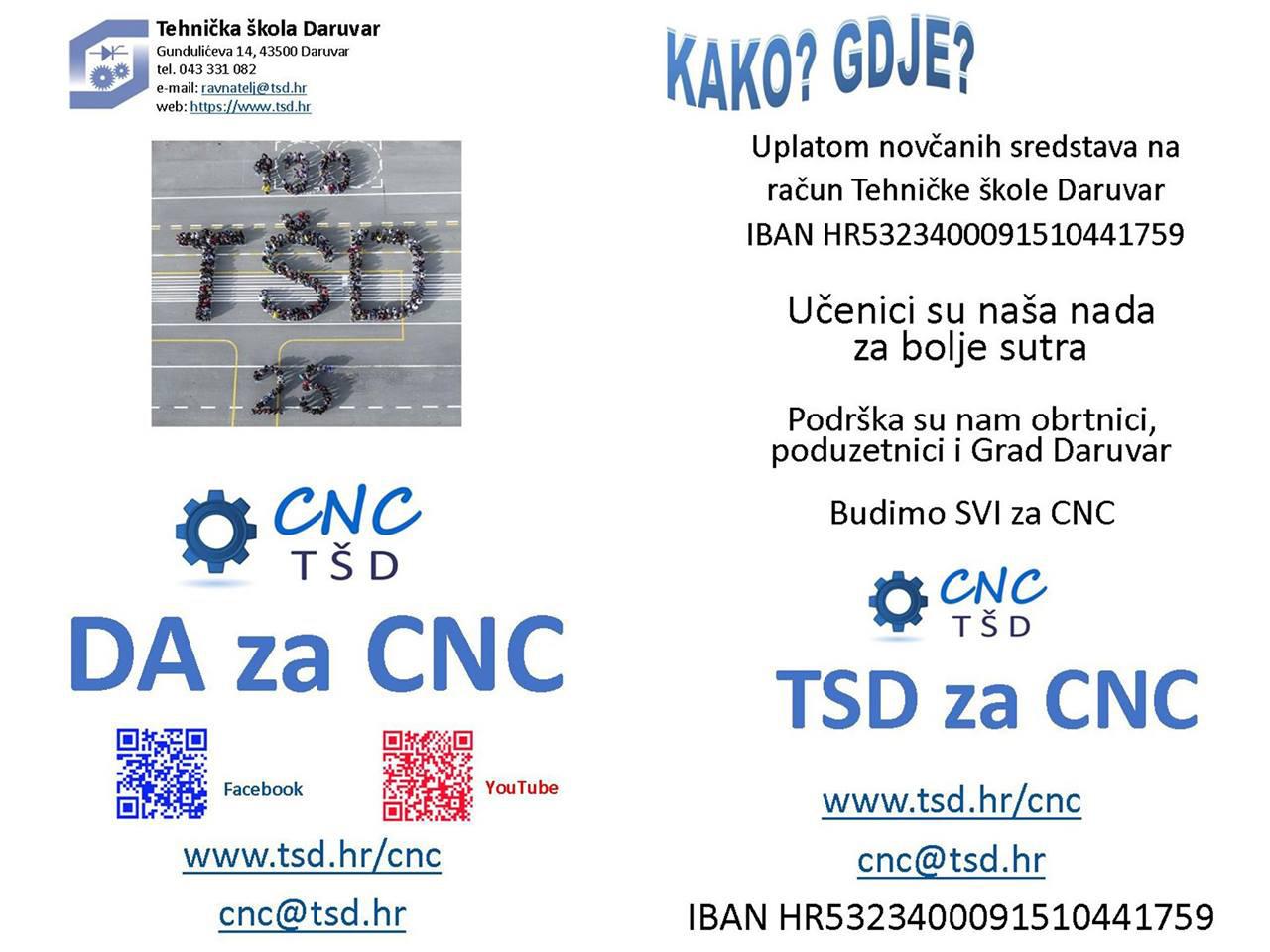 DA za CNC